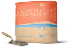 Cement budowlany